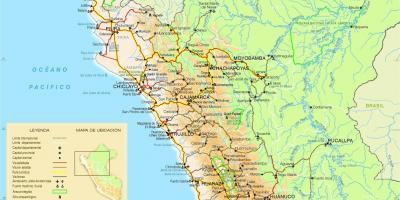 Peru Karte.Peru Kartes Kartes Peru South America Amerika
